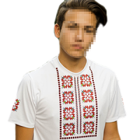 Men's t-shirts with folklore motives