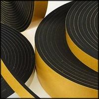 Rubber self-adhesive tape