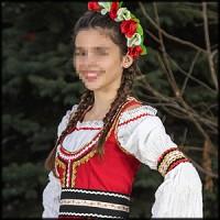 Folk costume for female
