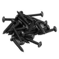Wood screw TA 5 x 12 mm black
