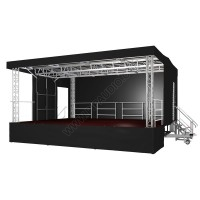 Mobile stage 7.5 x 6 x 5m