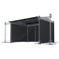 Sloping Stage Roof System 15 x 12 m