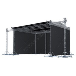 Sloping Stage Roof System 10 x 8 m