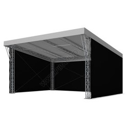 Sloping Stage Roof System 8 x 6m