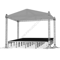 Stage Roof System 6 х 8 х 6 m
