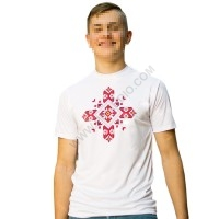 Man's t-shirts with folklore motive 008
