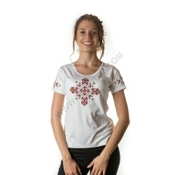 Woman's t-shirts with folklore motive 008