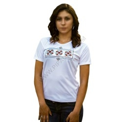Woman's t-shirts with folklore motive 009