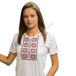 Woman's t-shirts with folklore motive 011