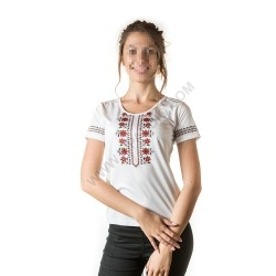 Woman's t-shirts with folklore motive 015