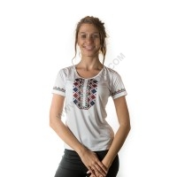 Woman's t-shirts with folklore motive 016