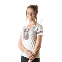 Woman's t-shirts with folklore motive 017