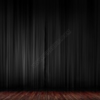 Back curtain for stage